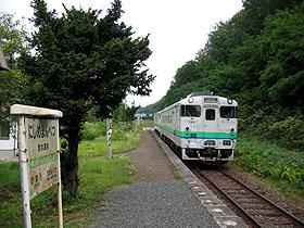 西女満別駅4
