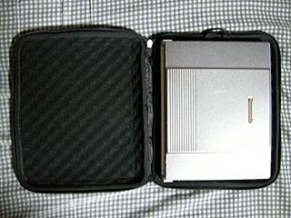 PCをケースに収納
