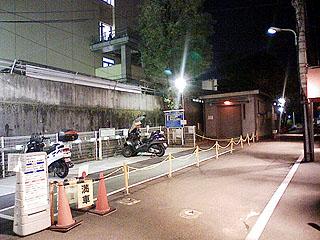 駐輪場・手前スペース