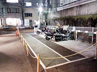 駐輪場・手前スペース2