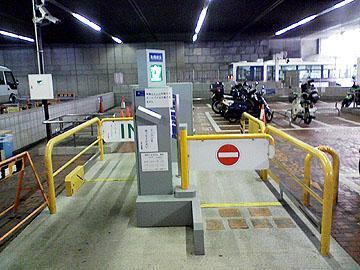 駐輪場ゲート