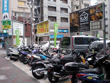 自転車の 蒲田 自転車 多い : ... 王大田第四蒲田西口駅前駐車場