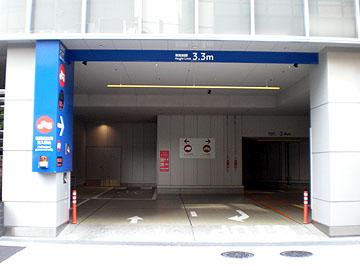 駐車場出入口2