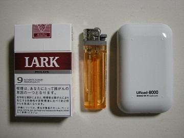 URoad-8000と煙草