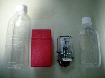 BL300-F1とペットボトル