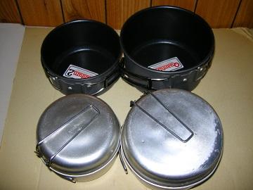 Texsport cook set とsonow peakクッカーの比較