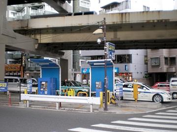 一ノ橋オートバイ専用駐車場・全景2