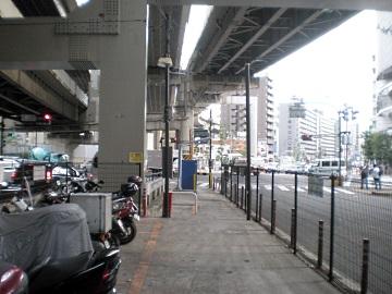 一ノ橋オートバイ専用駐車場・内部2